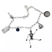 Bettelarmband aus Sterling Silber ATLANTIS mit Charms