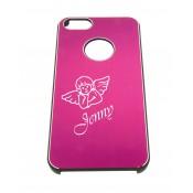 Handyhülle für iphone 4, pink mit Gravur