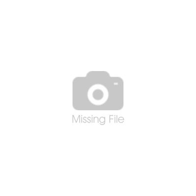 Schwarzer Kettenanhänger in Ringform mit Gravur M