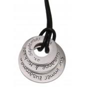 Anhänger mit Gravur Ring Set